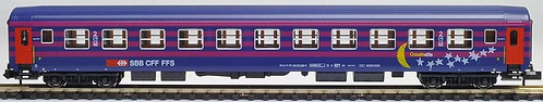 Hobbytrain/Staiber voiture CFF RIC  Couchettes