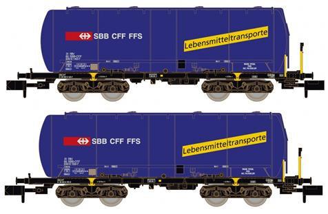 Hobbytrain CFF set de 2 Wagons citernes