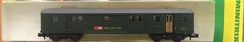 Minitrix Fourgon VU II