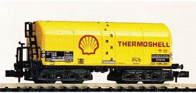 Minitrix DB wagon citerne Shell