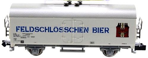 Minitrix CFF wagon couvert Feldschlösschen