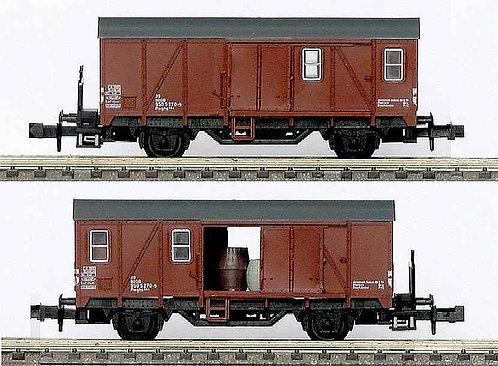 Minitrix DB wagon couvert à portes coulissantes