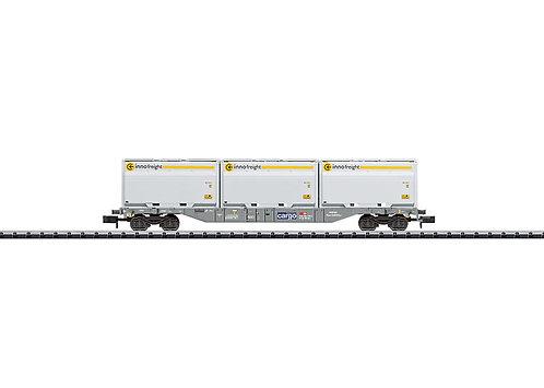 Minitrix wagon porte-conteneur CFF Cargo