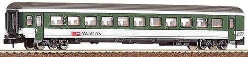 Roco voiture VU IV B CFF Verte