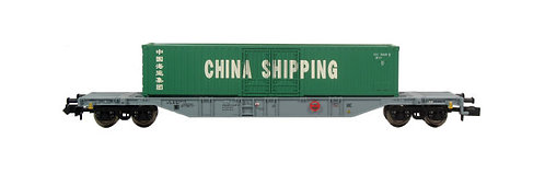 Minitrix AAE wagon porte-conteneur China Shipping