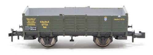 Minitrix wagon plat KBay