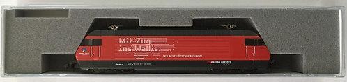 "Kato Re 460 ""Mit Zug ins Wallis"" DCC"