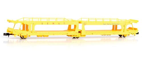 MF Train wagon porte-auto double SEMAT