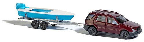 Busch set Mercedes + bateau