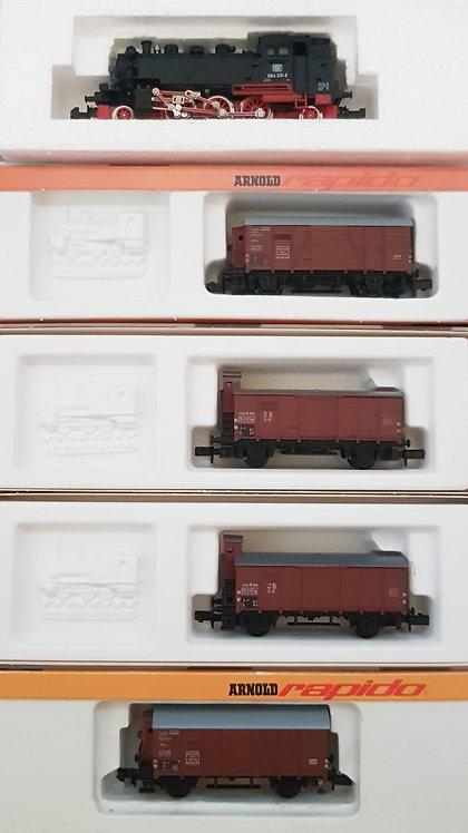 Arnold/Minitrix Set rame DB marchandise BR 64