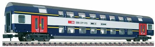 Fleischmann CFF voiture mixte 1/2.cl S-Bahn de Zurich