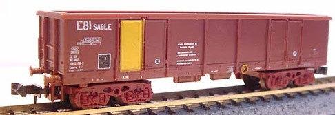Lima wagon tombereau SNCF E81