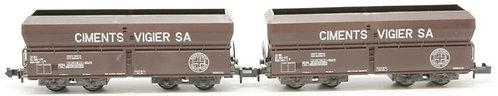 Minitrix CFF set de 2 wagons Vigier Cement