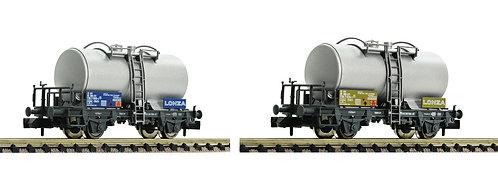 """Fleischmann Set de 2 wagons citernes """"Lonza"""""""
