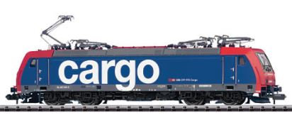 Minitrix CFF Re 482 Cargo
