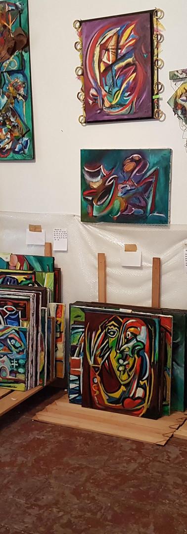 olio su tela  oil painting on canvas
