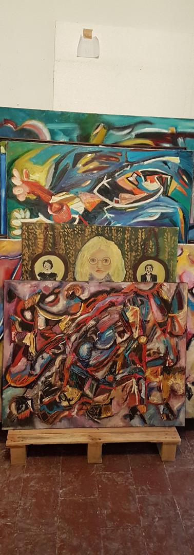 tele varie  various paintings