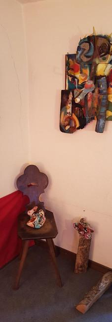 """assemblaggi  di """"objet trouvés"""" collezione privata  assemblies  of """"objets trouvés"""" private collection"""