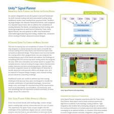 Unity Signal Planner