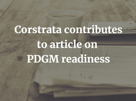 Corstrata Wound Care Experts Published on Readiness for PDGM