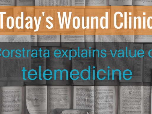 Corstrata Wound Care Experts Published on Telemedicine Solutions