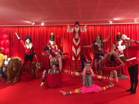 Festas infantis com tema Circo
