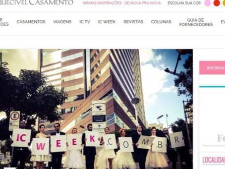 INESQUECÍVEL CASAMENTO – IC WEEK SP 2015 – FLASHMOB