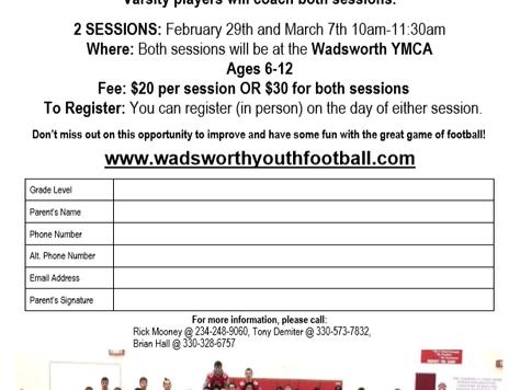 WYF Winter Skills Camp Details