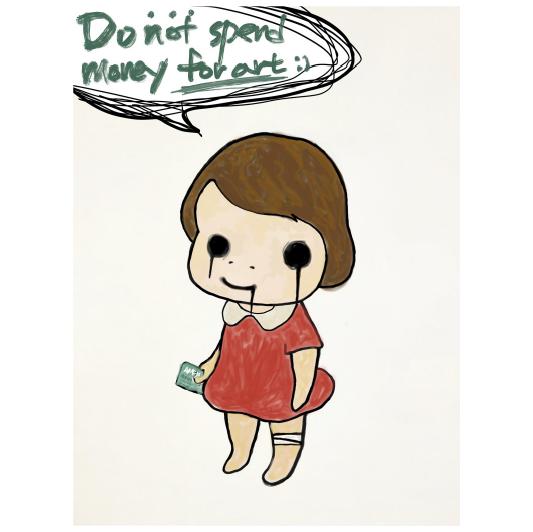 [Felix] Do not spend money for art