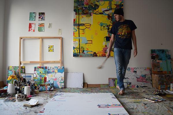 Weir in Studio.JPG