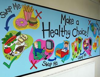 Healthy Choices Mural