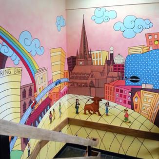 Birmingham Landmarks School Stairwell
