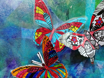 Butterfly Zentangle Workshop
