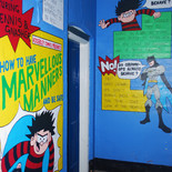 Comic Book Stairwell