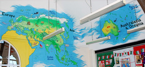 Library Illustrated Maps