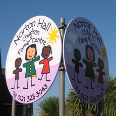 Handpainted Street Signage