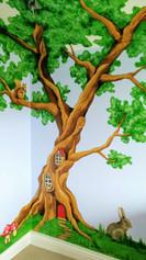 Tree Children's Room Mural