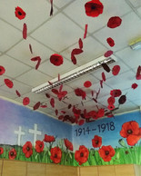 Rememberence Poppies Installation