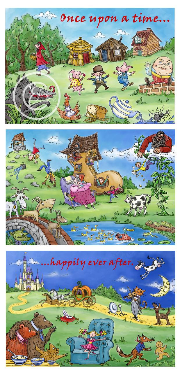 Nursery Rhyme land Artwork