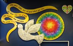 Dove Collage Collaborative Artwork