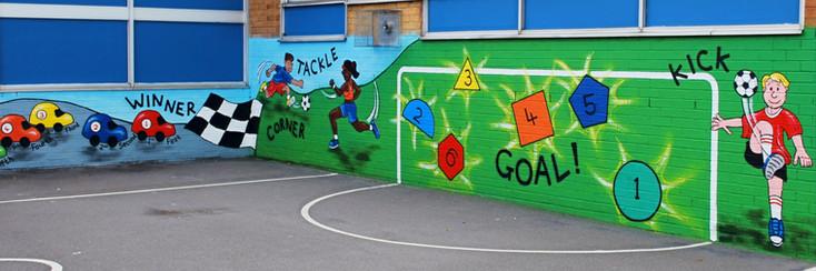 Sporting Playground Mural