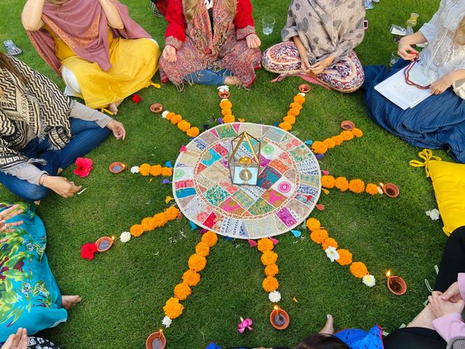 Mantra circle