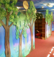 Woodland School Library