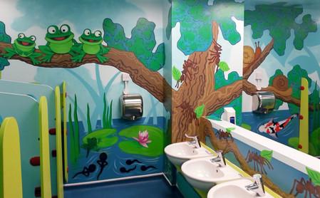 School Toilet Mural
