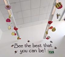 Bee & Flower Installation