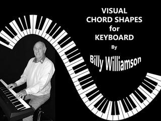 Visual Chord Shapes For Keyboard