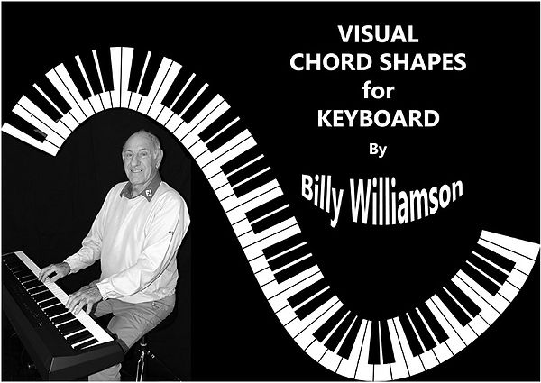 The cover of Visual Chord Shapes for Keyboard