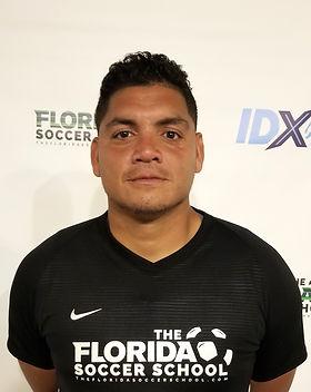 The Florida Soccer School Coach Carlos Quezada