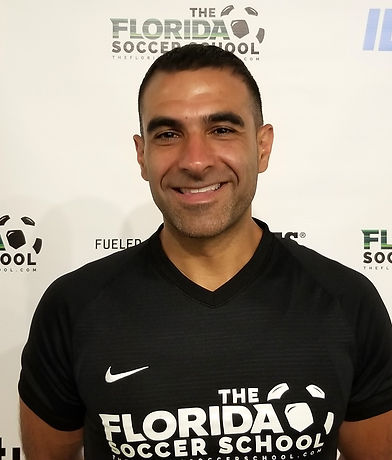 The Florida Soccer School Founder Director Fred Dikranian