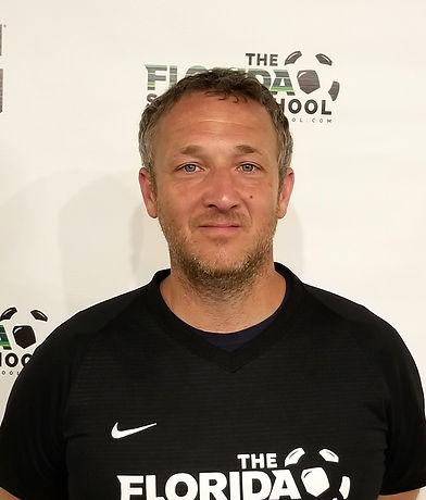 The Florida Soccer School Coach Ben Massena